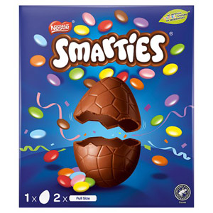 Smarties Large Easter Egg