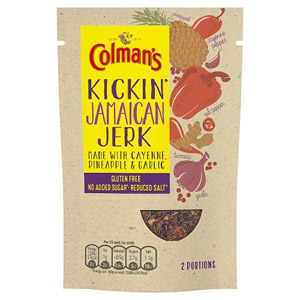 Colmans Natural Seasonings Gluten Free Jamaican Jerk Chicken