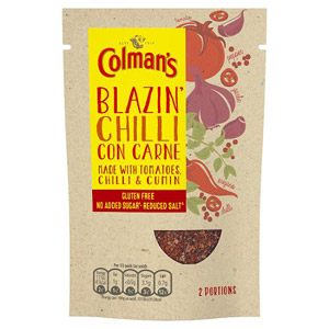 Colmans Natural Seasonings Gluten Free Chilli Con Carne