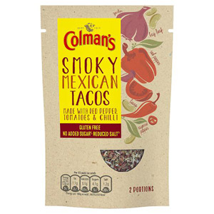 Colmans Natural Seasonings Gluten Free Mexican Tacos