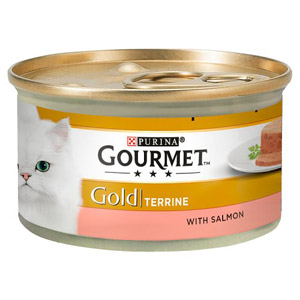 Purina Gourmet Gold Terrine With Salmon