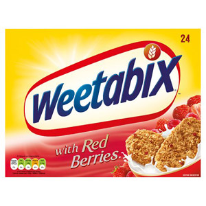 Weetabix Additions With Red Berries 24 Biscuit