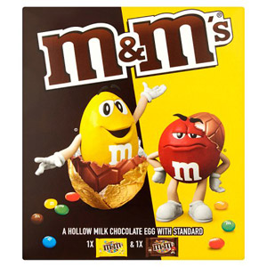 M&Ms Peanut & Chocolate Large Easter Egg