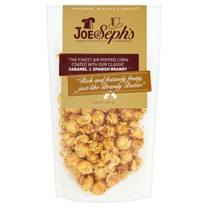 Joe and Sephs Brandy Butter Popcorn Pouch