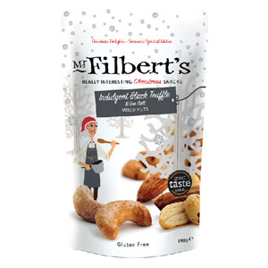 Mr Filberts Indulgent Black Truffle & Sea Salt Mixed Nuts