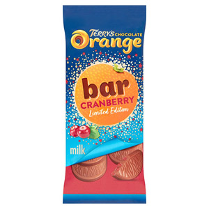 Terrys Chocolate Orange & Cranberry Tablet