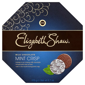 Elizabeth Shaw Mint Crisp Milk Chocolates