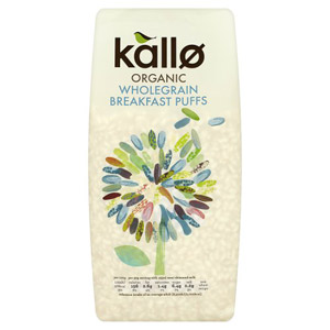 Kallo Organic Puffed Rice Cereal