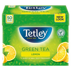 Tetley Green  Lemon 50 Teabags