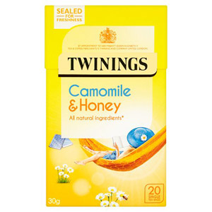 Twinings Honey & Camomile Tea Caffeine Free 20s