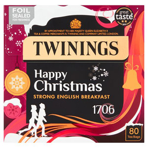 Twinings English Strong 1706 Tea Bags 80s