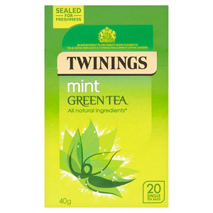 Twinings Green Tea with Mint 20s