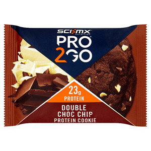 SCI-MX Pro 2Go Double Chocolate Chip Cookie 75g