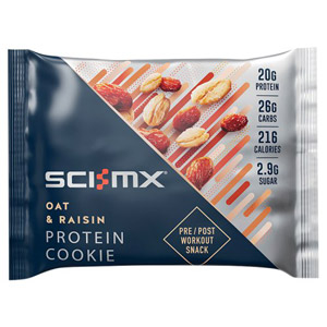 SCI-MX Pro 2Go Oatmeal and Raisin Cookie 75g