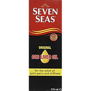 Seven Seas Original Cod Liver Oil Liquid 170ml