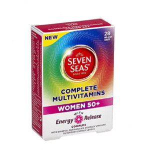 Seven Seas Complete Multivitamins Women 50+