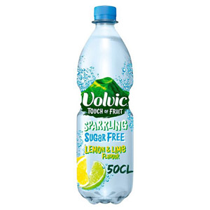 Volvic Touch Of Fruit Lemon & Lime No Added Sugar Sparkling