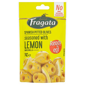 Fragata Spanish Pitted Olives Seasoned With Lemon