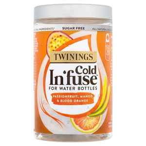 Twinings Passionfruit Mango & Blood Orange Cold Infusions For Water Bottles