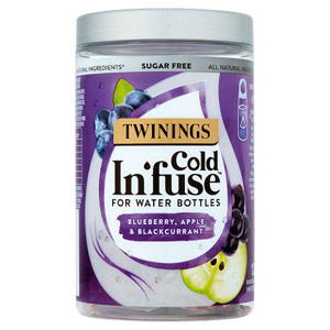 Twinings Blueberry Apple & Blackcurrent Cold Infusions For Water Bottles 12pk