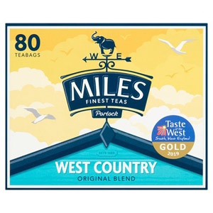 Miles West Country Original Blend 80 Tea Bags