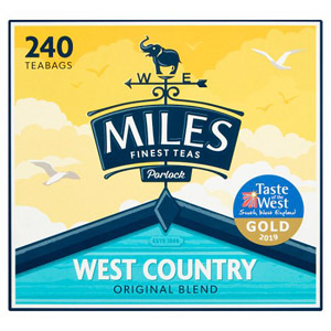 Miles West Country Original Blend 240 Tea Bags