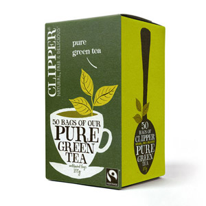 Clipper Pure Green Tea 50 Tea Bags