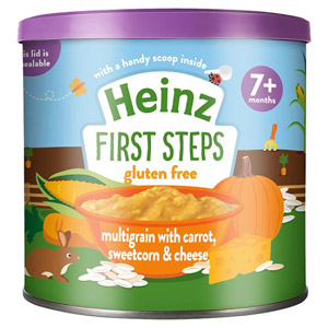 Heinz Multigrain Carrot And Sweetcorn