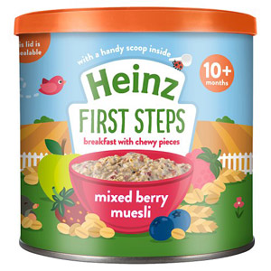 Heinz Strawberry Raspberry and Blueberry Muesli