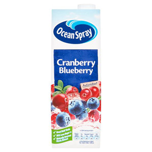 Ocean Spray Cranberry and Blueberry Juice