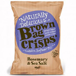 Brown Bag Crisp Rosemary & Sea Salt