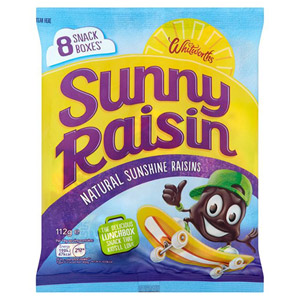 Whitworths Sunny Raisin 8 Snack Boxes