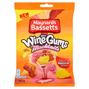 Maynards Bassetts Wine Gums Mocktails