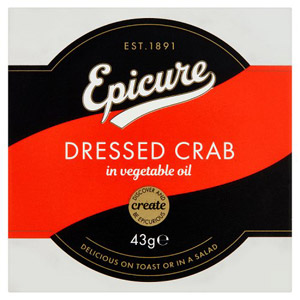 Epicure Dressed Crab 43G