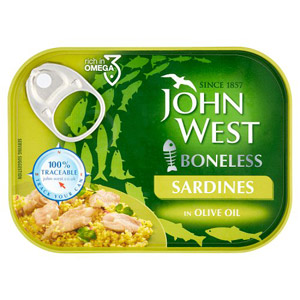 John West Boneless Sardines in Olive Oil
