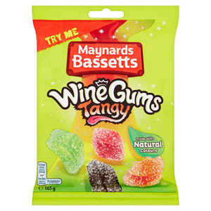 Maynards Bassetts Wine Gums Tangy