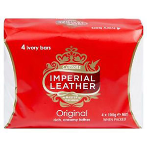 Imperial Leather Original 4 ivory bars