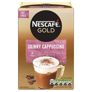 Necafe Gold Cappuccino Skinny 8 sachets 8x14.5g