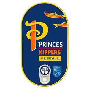 princes kippers in sunflower oil