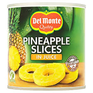 Del Monte Pineapple Slices in Juice