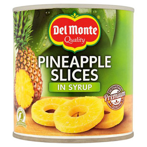 Del Monte Pineapple Slices In Syrup 840G