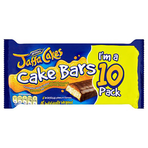McVities Jaffa Cakes 10 Cake Bars