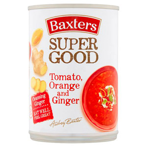 Baxters Tomato Orange And Ginger Soup 400G
