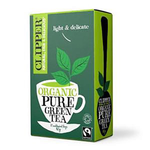 Clipper Organic Fairtrade Green Tea 20'S