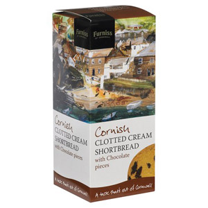 Furniss Of Cornwall Clotted Cream Shortbread with Chocolate