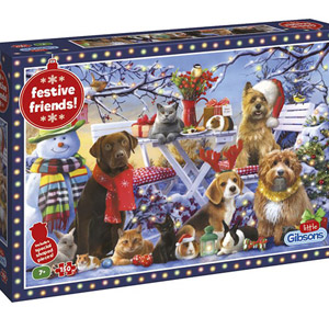 Gibsons 150 Piece Jigsaw Puzzle Festive Friends