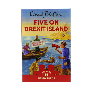 Gibsons Five On Brexit Island Jigsaw Puzzle 250 Piece
