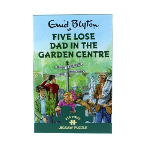 Gibsons Five Lose Dad In The Garden Centre Jigsaw Puzzle 250 Piece