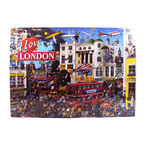 Gibsons I Love London Jigsaw Puzzle 1000 Pieces
