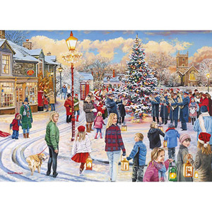 Gibsons 1000 Piece Jigsaw Puzzle Christmas Chorus